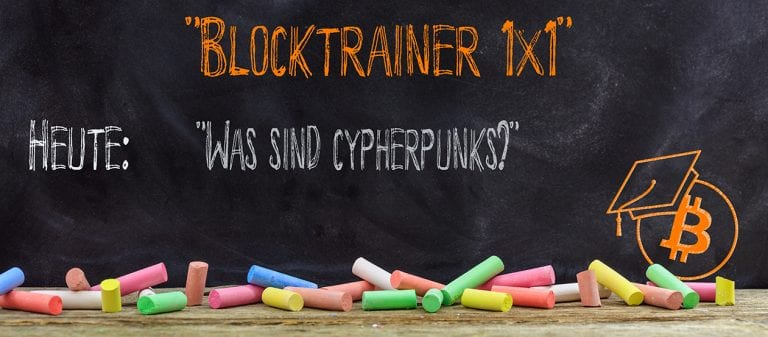 Was sind Cypherpunks