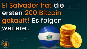 El Salvador kauft Bitcoin