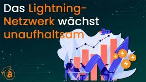 Wachstum Lightning Netzwerk