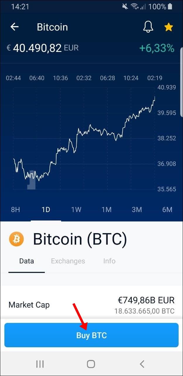 Wie kaufe ich Bitcoin mit crypto.com