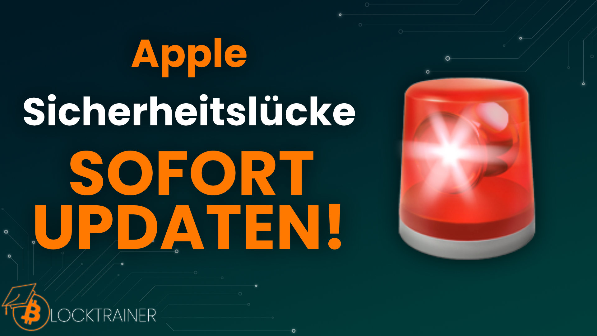Apple Sicherheitslücke sofort Updaten!