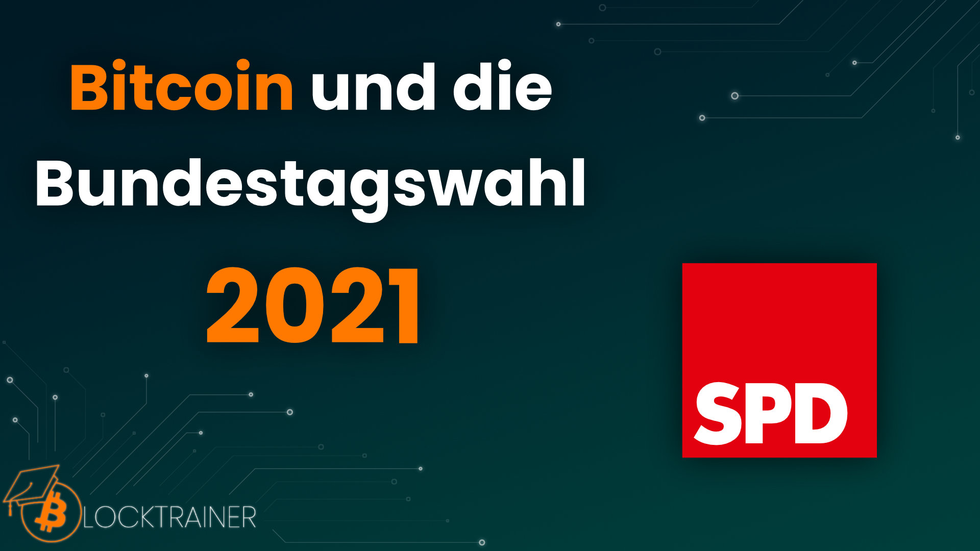 Bitcoin Bundestagswahl 2021 SPD
