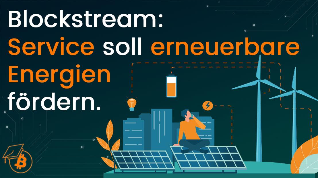Blockstream Energy Service