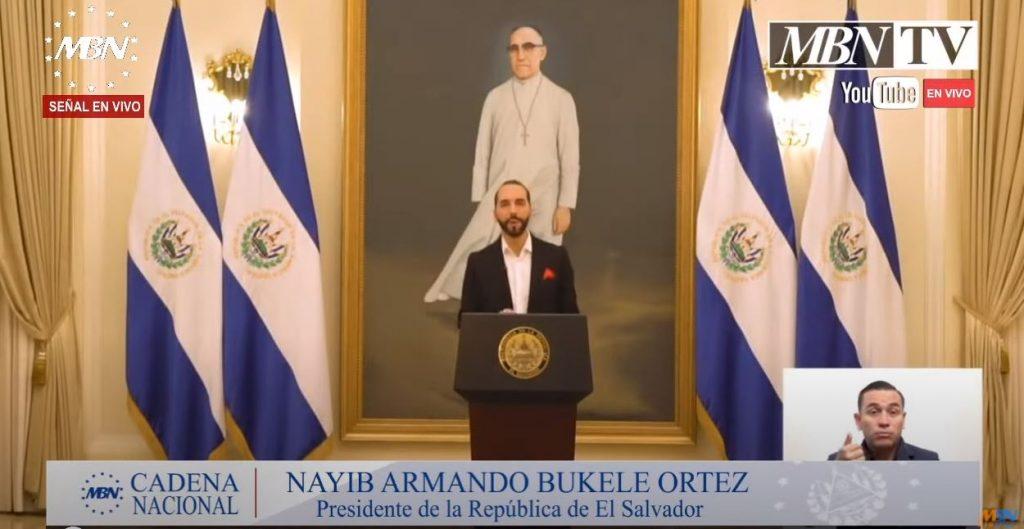 Präsident Bukele