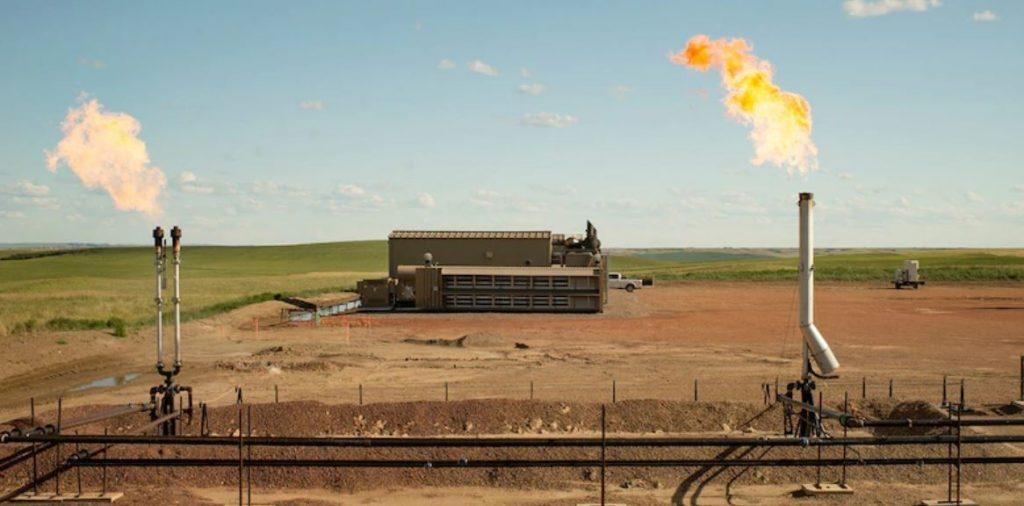 Bild von Mining durch Flaring