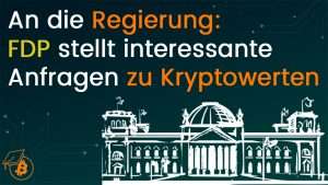 FDP kleine Anfragen zu Krypto