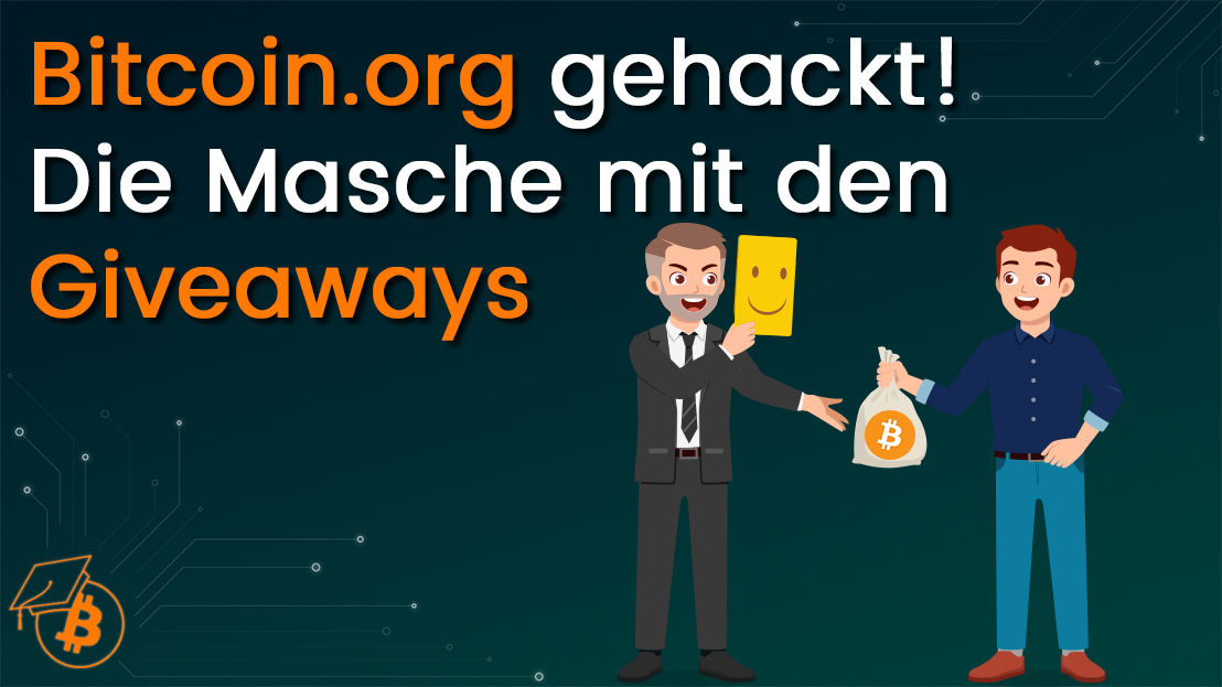 Giveaway Scam bitcoin org