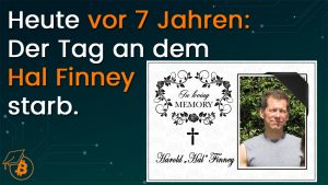 Hal Finney Todestag