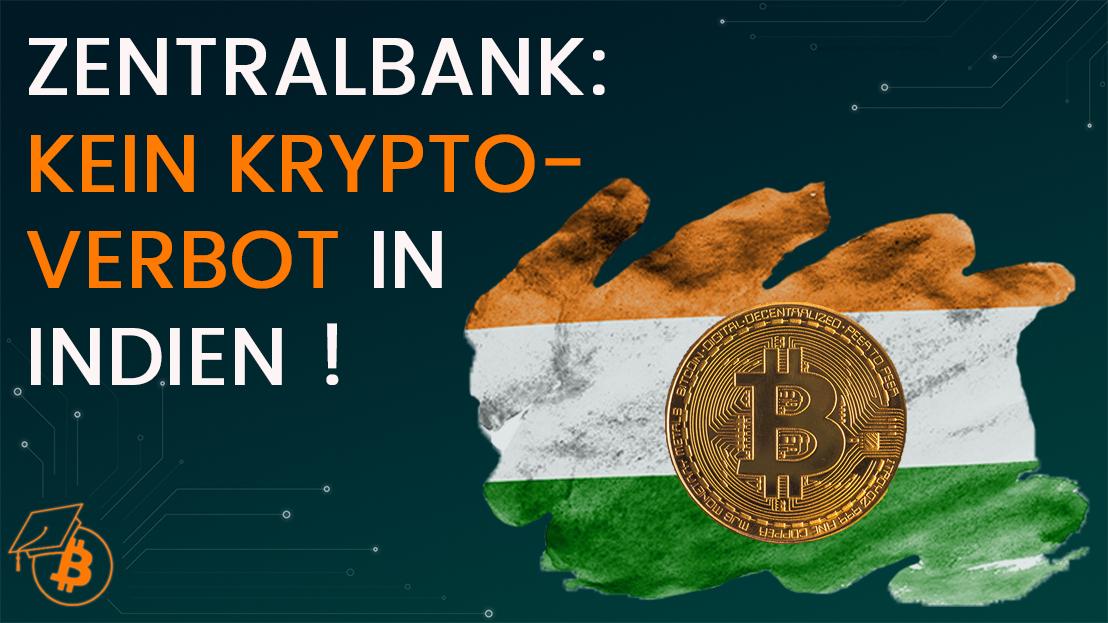 Bitcoin ist in Indien verbieten oder nicht