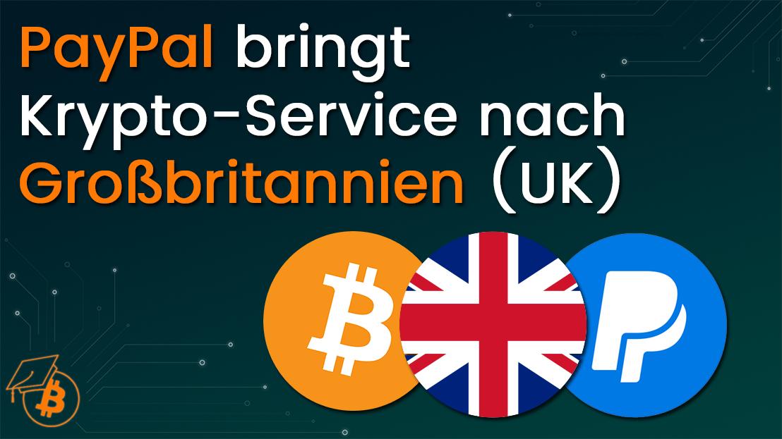 PayPal bringt Krypto nach UK